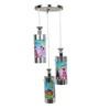 Aesthetics Home Solution Mermaid Multicolor Glass Kids Lighting