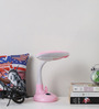 San Martin Study Lamp in Pink by CasaCraft