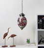 Urmila Ceiling Lamp in Red & White by Mudramark