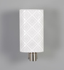 Bruno Wall Light in White by CasaCraft