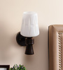 Barcelona Wall Light in White by CasaCraft