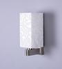 Braslia Wall Light in White by CasaCraft