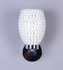 Bernadita Wall Light in White by CasaCraft