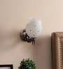 Casa Guapo Wall Light in White by CasaCraft