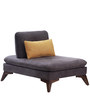 Agueda One Seater Sofa in Grey Colour by CasaCraft