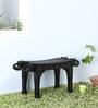 Ahilya Handcrafted Bench in Espresso Walnut Finish by Mudramark