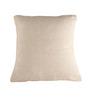 Aion Beige Linen 15 x 15 Inch Cushion Cover