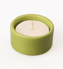 Aion Green Stone Festive Tea Light Holder