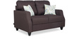 Albans Two Seater Sofa in Grey Colour by Urban Living