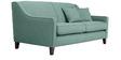 Alia Superb Three Seater Sofa Aqua in Blue Colour by Furny