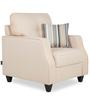 Albans One Seater Sofa in Beige Colour by Urban Living