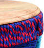Alberta Pouffe in Multicolour by Inliving