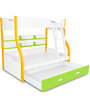 Columbia Bunk Bed in Yellow Green by Alex Daisy