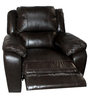 Alexander Half Leather One Seater Recliner by HomeTown