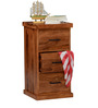 Logan Chest of Drawers in Warm Walnut Finish by Woodsworth