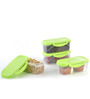 All Time Delite Green 500 ML Storage Container - Set of 4