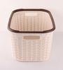 All Time Plastic Cream 27 L Cresta Basket
