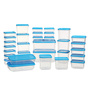 All Time Polka Blue Rectangle Storage Container - Set of 31