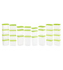 All Time Polka Green Assorted Storage Container - Set of 28