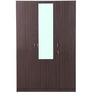 Allen Three Door Wardrobe With Mirror in Walnut Finish by HomeTown