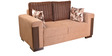 Amazon Fab Two Seater Sofa in Brown Colour by HomeTown