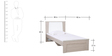 Ambra Single Bed by Hometown