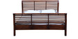 Amherst Queen Size Bed in Honey Oak Finish by Amberville