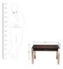 Coffee Table in Veneer by Tube Style