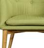 Amancio Wing Chair in Green Colour by CasaCraft