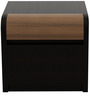 Amazon Bed Side Table in Wenge Colour by Spacewood
