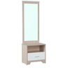 Ambra Dressing Table with Full Mirror in White Colour by HomeTown