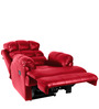 Amet Single Seater Recliner in Red Colour by Little Nap Designs
