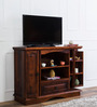 Oregon Entertainment Unit in Honey Oak Finish by Amberville