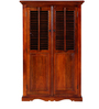 Amherst Wardrobe in Honey Oak Finish by Amberville