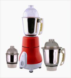 AnjaliMix Euro Red Mixer Grinder - 750 W