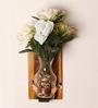 Anabella Vase in Brown by CasaCraft