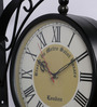 Anantaran Retro Wall Clock Two Side Metro Saint Station Clock