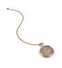 Anantaran Brown Brass Marco Polo Appealing Pocket Watch Chain