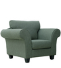 Anapolis One Seater Sofa in Graphite Grey Colour by CasaCraft