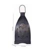 Anasa Black Metal Lantern Set of 4