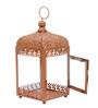 Anasa Copper Metal Medium Lantern