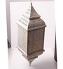 Anasa off White Metal Lantern