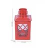 Anasa Red Iron Lantern Set of 2