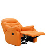 Ancona One Seater Recliner Chair in Rust Colour by Furnitech