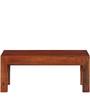 Lacanoia Mango Wood Minimalist Coffee Table In Honey Oak Finish by Woodsworth