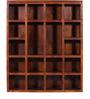 Oakland Solid Wood Book Shelf in Honey Oak Finish by Woodsworth