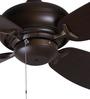 Anemos Fino Mahogany Finish Designer Ceiling Fan