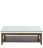 Angel Center Table in White Colour by @Home
