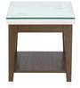 Angel Side Table in White Colour by @Home