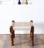 Animesh Stool with Weaving Work by Mudramark